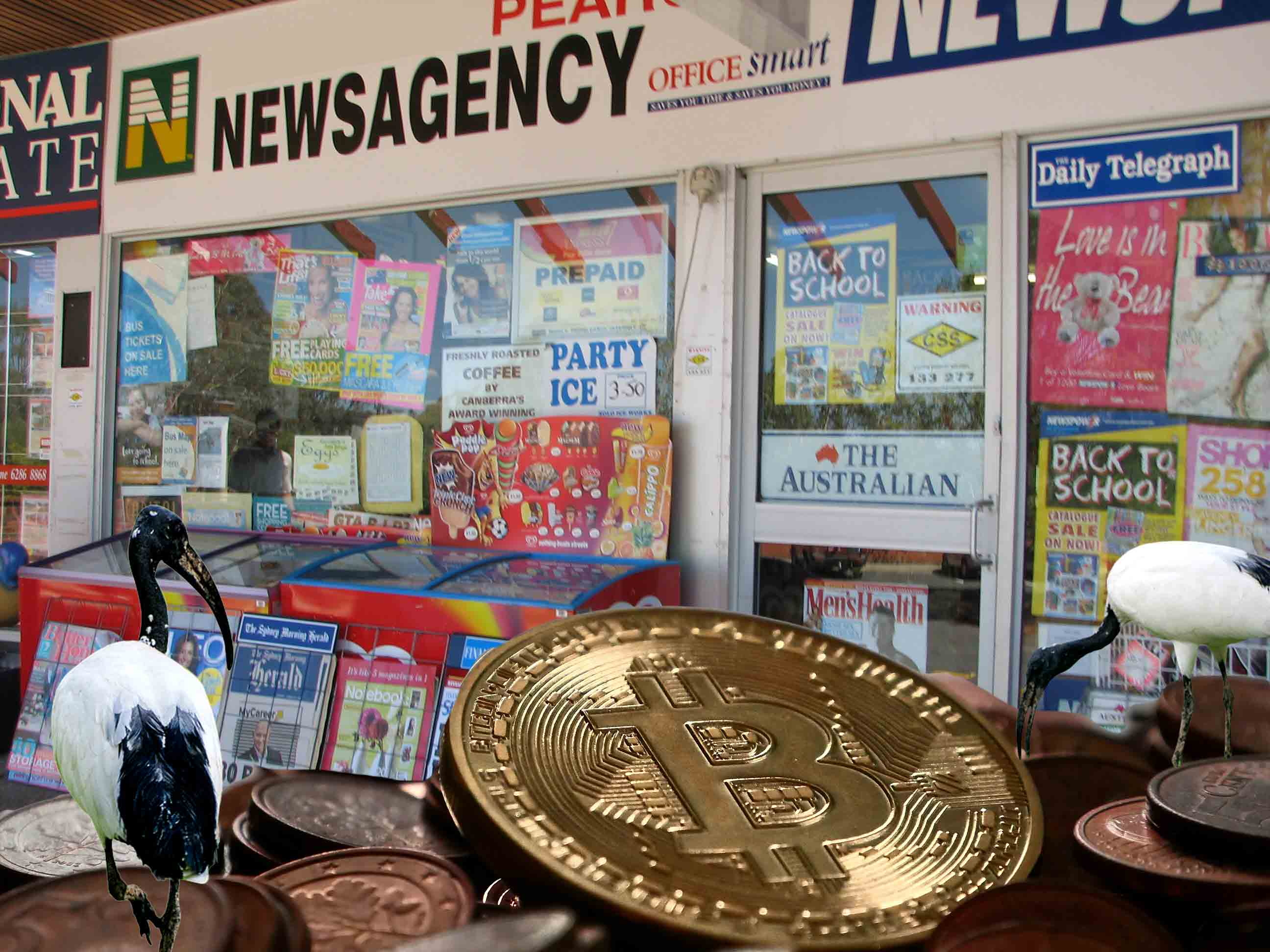 Buying bitcoins at australian newsagents rarlo magazine ccuart Image collections