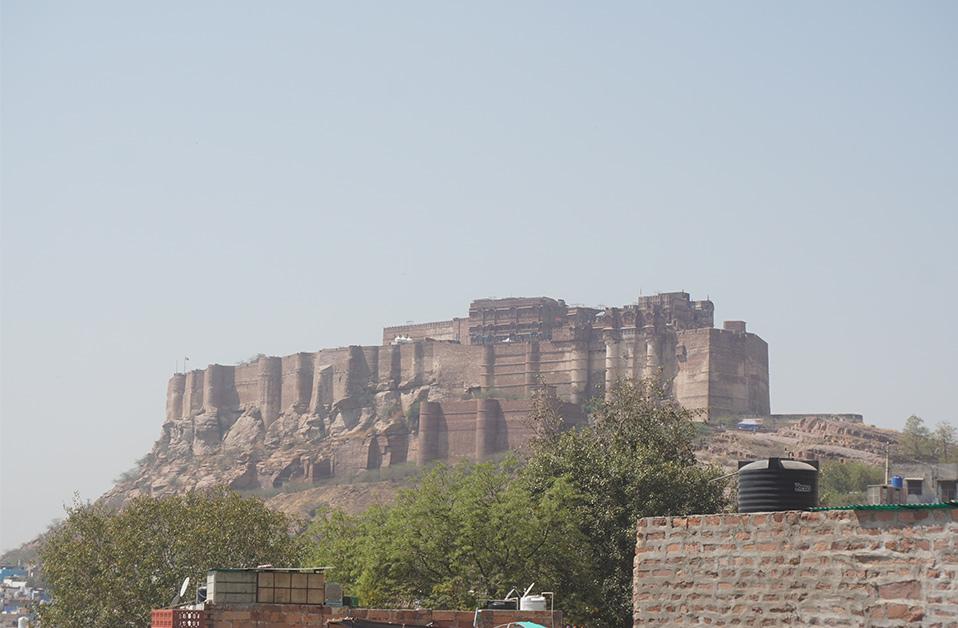 Mehrangarh Fort, Jodhpur.