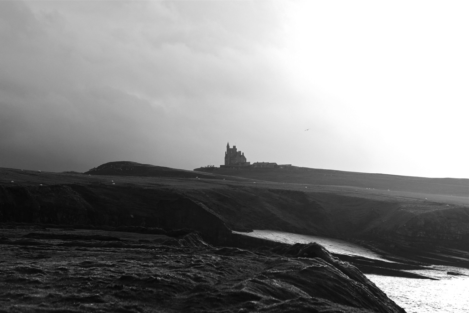 Classiebawn Castle on the Mullaghmore peninsula