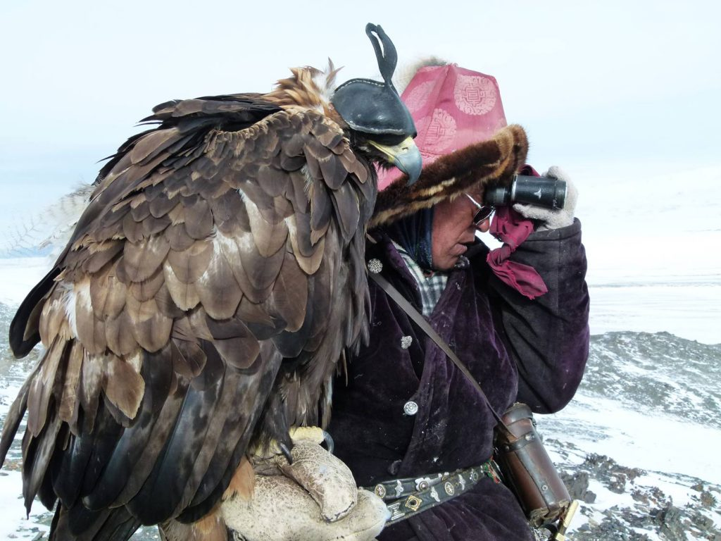 Kazakh Eagle Hunters Mongolia Atlay Region