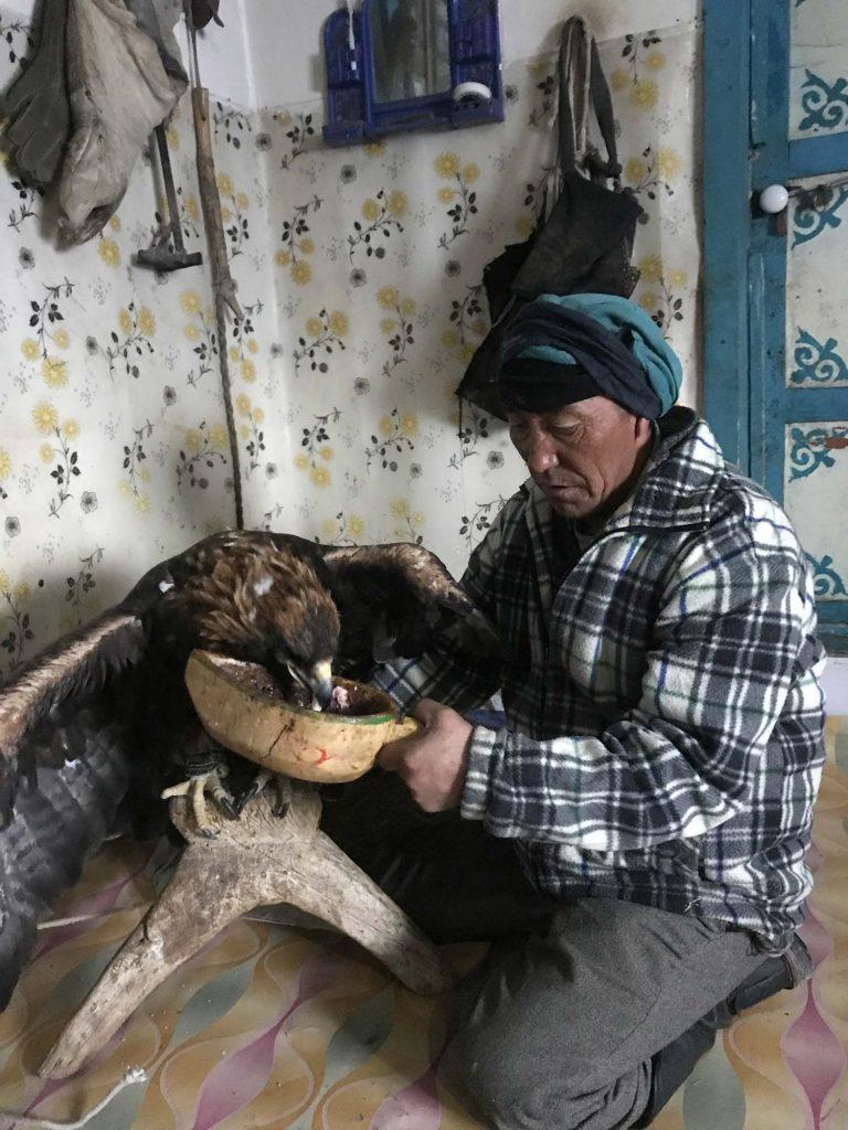 Kazakh Eagle Hunters Mongolia