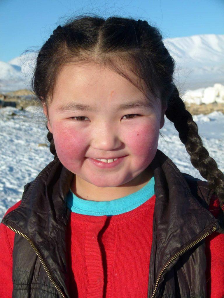 Kazakh Eagle Hunters Mongolia Atlay Region mongolian girl
