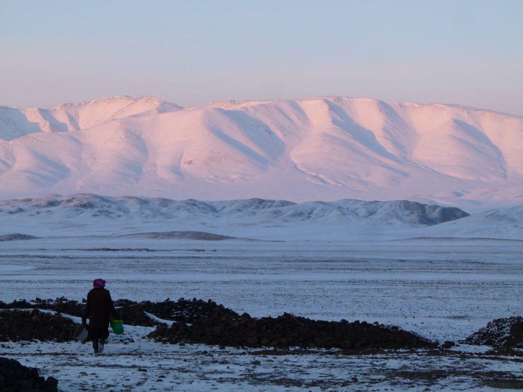 Kazakh Eagle Hunters Mongolia Atlay Region