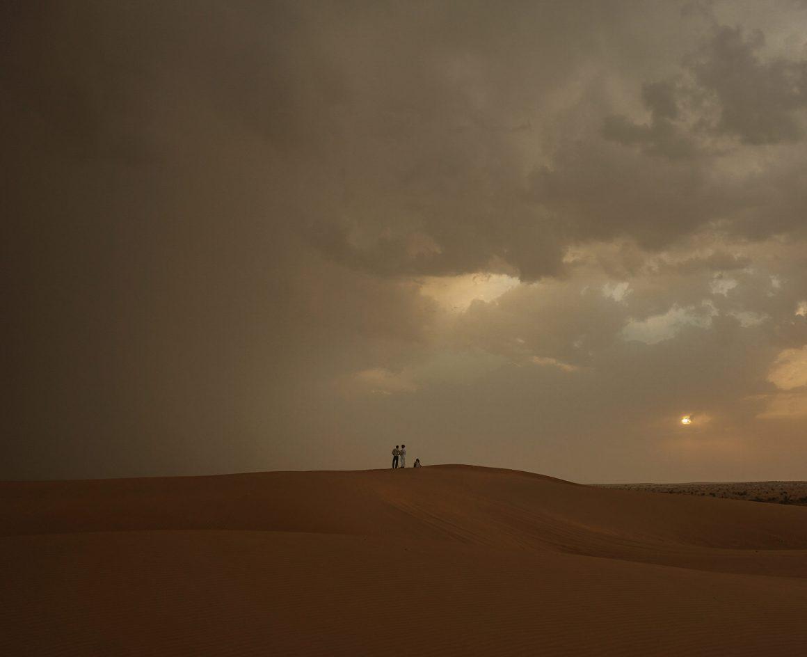 storm rain in desert jaislamer desert camel camping opium tea hash